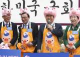 """이재명, 잇달아 친문 회동… """"손잡고 함께 가는 모습 보여주려"""""""