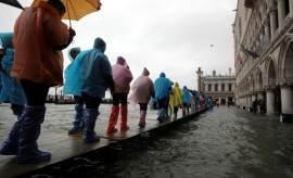 [서소문사진관]'물의 도시' 베네치아, 53년만에 '물 바다'됐다