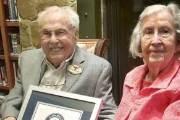 남편 106살, 부인 105살…'결혼 80주년' 세계 최장수 부부
