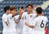 '오세훈 2골' 올림픽축구대표팀, <!HS>바레인<!HE> 3-0 완파