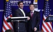 [속보] 한미 국방, 비핵화 협상 위해 이달 연합공중훈련 연기