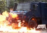 [르포]경찰 조준사격, 중국군 총검 장착…홍콩 전쟁터 됐다