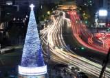 [서소문사진관] 벌써 메리 크리스마스! <!HS>성탄절<!HE> 한달 앞두고 서울광장 등 세계 곳곳 빛 축제 시작