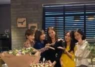 """'우아한 친구들' 김혜은→송윤아, 한다감 결혼 축하 """"행복한 소식"""""""
