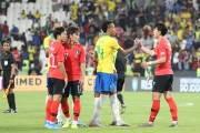 벤투호 출범 이후 첫 3실점...한국, 브라질에 0-3패