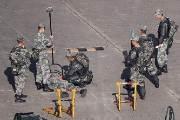 이공대 진압훈련한 인민해방군···홍콩 '최후의 보루' 함락되나