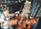 """고층빌딩서 낙하산활강 러시아인들, 출국후 """"<!HS>엘시티<!HE>서도 뛰어내렸다"""" 주장"""