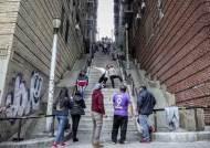 [백종현의 여기 어디?] 뉴욕 명소로 뜬 '조커 계단'에서 광대 춤을…