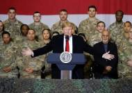 """트럼프 """"필요하면 군사력 쓸 수도 있다""""···김정은과 기싸움"""