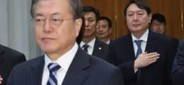 윤석열 퇴장뒤 文 찾은 김오수 그날 청와대·검찰 갈라섰다