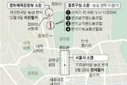 靑 앞 한국당 천막은 문체부, 다른 천막은 종로구가 경고···왜
