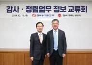 한국동서발전·한국지역난방공사, 감사청렴업무 정보 교류