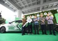 현대 아이오닉 전기차 20대, 그랩 타고 인도네시아 달린다