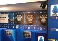 원숭이그림이 인종차별근절 캠페인?…伊 프로축구 '뭇매'