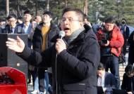 거칠어진 황교안 연일 장외집회···그 뒤엔 삭발·단식의 기억