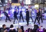 '2020 새해맞이' 타임스스퀘어서 울려퍼진 BTS '작것시'