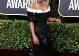 골든글로브 베스트 드레서…'3D 프린트 드레스' 입은 조이 킹