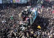 솔레이마니 장례식서 들린 비명…압사 사망자 50명으로 늘어