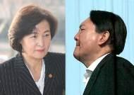 """추미애·윤석열, 檢간부에 다른 메시지…""""개혁""""vs""""수사 연속성"""""""