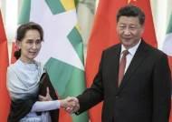 시진핑, 미얀마 방문…미국이 때릴 땐 이웃 친구 늘려야