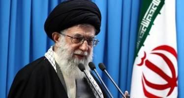 """이란 최고지도자, 8년 만에 대예배 집전…""""미국 테러리스트 본성 드러냈다"""""""