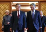 """文대통령 """"신북방정책, 실질적인 성과내도록 최선 다해달라"""""""