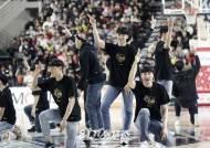[포토]10개구단 신인들의 댄스신고식