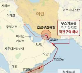 <!HS>드론<!HE>·어뢰·미사일…호르무즈 가는 왕건함의 3대 위협