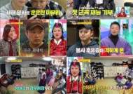 [시청률IS] '당나귀귀' 양치승, 연탄봉사로 새해시작…13주 연속 1위