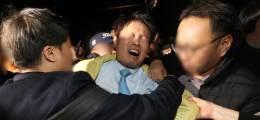 '우한교민 반대' 진천 찾았다가 물병 맞고 머리채 잡힌 복지차관