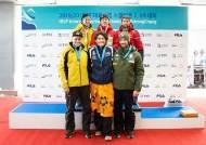 '스켈레톤 기대주' 정승기, 평창서 열린 대륙간컵 이틀 연속 금메달