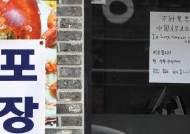 입구엔 '중국인 출입 금지'···강릉·제주·군산 상인들은 한숨만