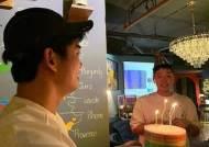 """옥택연, 군 복무 중인 황찬성 생일파티 인증샷 """"2PM 끈끈 의리"""""""