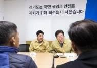 """""""공직자 마스크 착용은 별로""""…마스크 없이 이천 찾은 이재명"""
