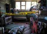 아이티 보육원 화재 17명 사망, 쌍동이 잃고 오열하는 엄마