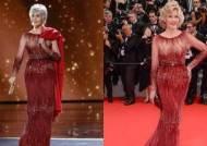 """""""더는 쇼핑 않겠다""""···기생충 뺨친 82세 여배우의 '빨간 드레스'"""