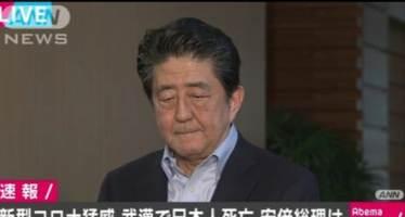 '코로나19' 탓에 일본 마이너스 성장 현실화되나…초조해진 아베 총리