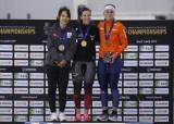 김보름, 스피드스케이팅 종목별선수권 매스스타트 은메달