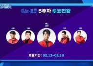 '미스터트롯' 이찬원, 투표 1위…팀 '패밀리가 떴다'도 1R 1위