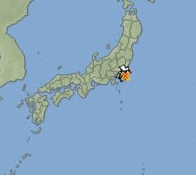 일본 수도권 지바현 북동부서 규모 4.5 <!HS>지진<!HE> 발생