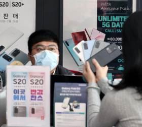 '코로나'로 1월 스마트폰 시장 7% 줄었다…상반기 침체 이어질까 더 걱정