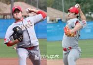 [IS 캠프라이브] SK 김태훈, 선발 변신 준비 착착…하재훈도 커브 합격점