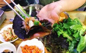 [아재의 식당] 채소도 찌개도 푸짐한 인심…을지로 '쌈 싸먹는 김치찌개'