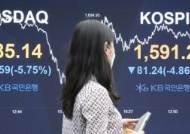 [속보] 유가증권시장·코스닥 매도 사이드카 발동