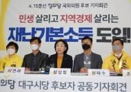 """이재명 """"재난기본소득으로 위기돌파""""…靑 """"지자체 재난기금도 있어"""""""