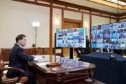 [사진] G20 초유의 화상정상회의