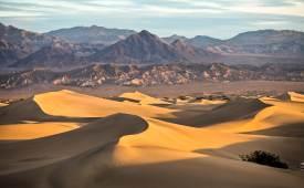 신기루? 죽음의 계곡서 만난 꿈틀대는 사막