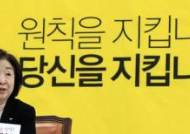 정당득표율 반토막 위기···선거법 수혜자서 피해자 된 정의당