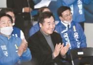 """이낙연 호남선 타고 첫 지원 """"군산조선소 정상화에 전력"""""""