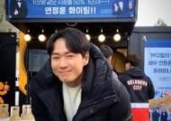 """연정훈, 김종민 커피차 응원 인증 """"거짓말 같은 시청률 50% 가즈아"""""""